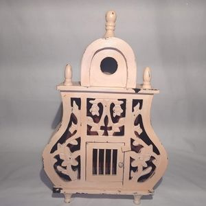 Wood BirdHouse Decor